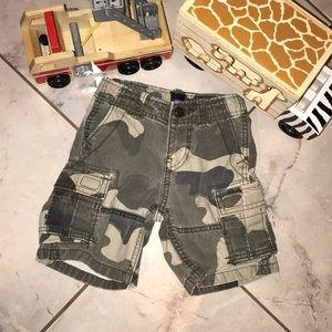 Kids Sz 2T Camo Shorts